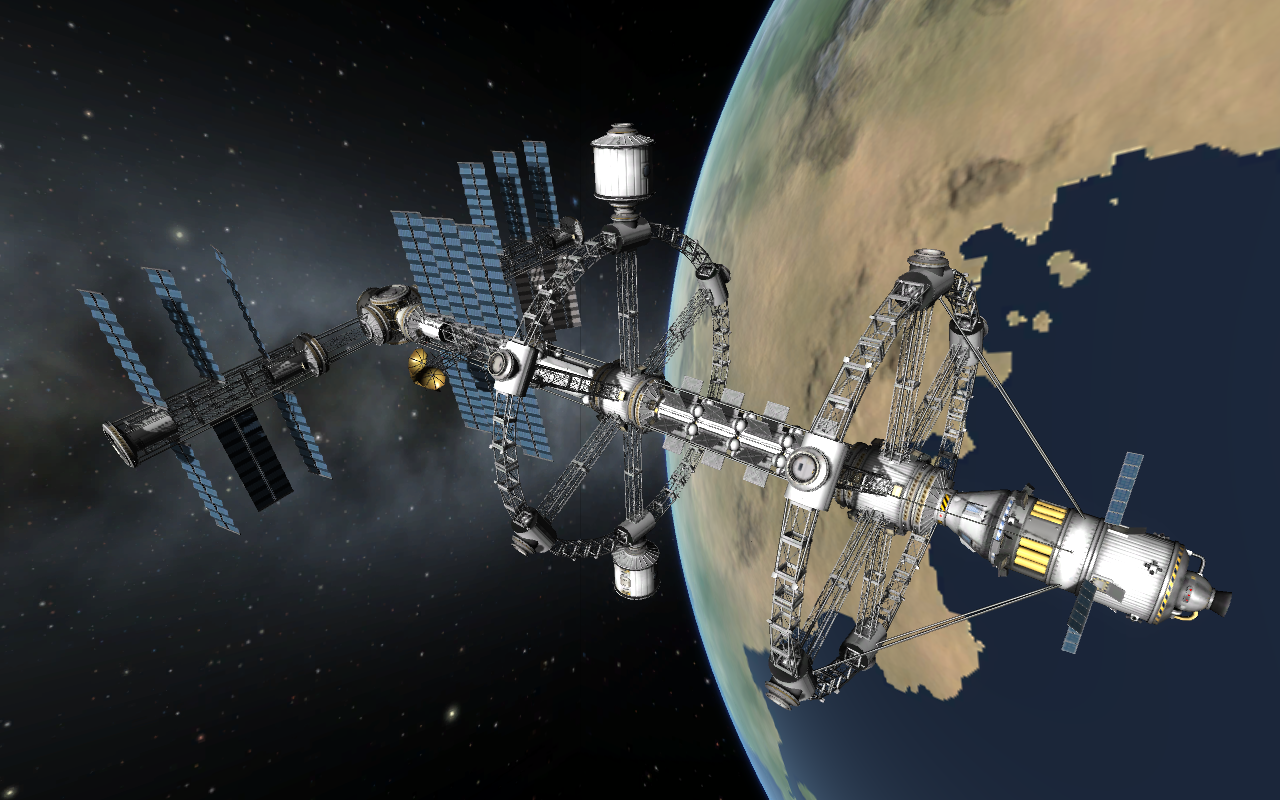 kerbal space station build - photo #37
