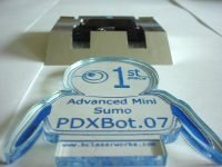 PDXBot.07 First Place Adv Minisumo